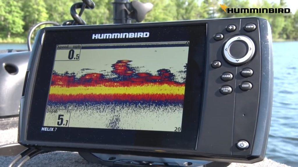 Humminbird Helix 7 fish finder